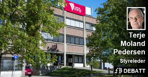 – Pengene er på ingen måte tapt og står som en varig verdi i selskapet, skriver Terje Moland Pedersen om de 51 millioner kroner som kommunen overfører til Fredrikstad Energi i ny kapital.