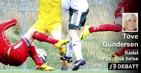 – Idrettsutøvere er som andre. Psykisk helse bør være et tema på alle idrettsarenaer og fotballbaner.