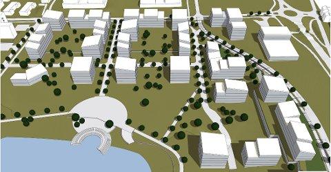 Sorgenfri-utbyggingen Verksbyen har enorme dimensjoner. Nå klargjøres det for ytterligere 430 boliger , noe et enstemmig bystyre sa klart ja til.