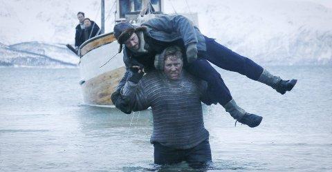 DRAMATISK: Jan Baalsrud var den eneste av 12 på mannskapet til fiskeskøyta «Bratholm 1»  som slapp unna Gestapos klør. Godt hjulpet av lokalbefolkningen reddet han livet. Espen Gullestad spiller Baalsrud i den nye filmen.