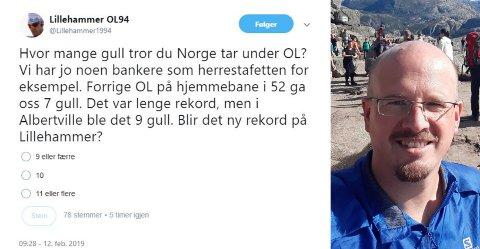 Rogalendingen Øyvind Fiskå oppdaterer «direkte» fra Lillehammer OL i 1994 de neste to ukene. 25 år etter lekene.