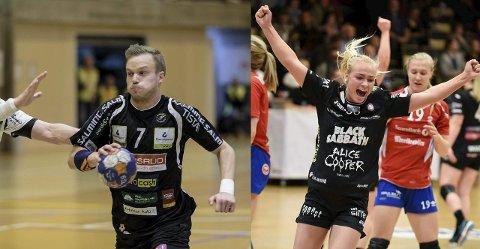 KJÆRESTER: Mathias Gjestrud (HTH) og Sofie Fynbo (HHK) er kjærester, og sistnevnte har bestemt seg for å reise hjem til Danmark. Nå må Gjestrud ta et valg. Bildemontasje: Hans Petter wille/TIL photo