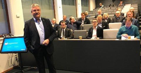 REKORDOVERKUDD: Konsernsjef Richard Heiberg leverer nok en gang rekordoverskudd for Sparebank 1 Østlandet.