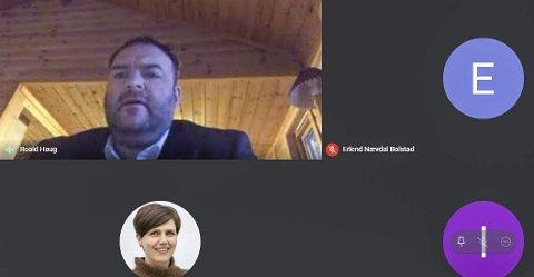 Stort engasjement: Saken om Røldal - Suldal Kraft ble lenge debattert under det digitale møtet i formannskapet torsdag 14. januar.