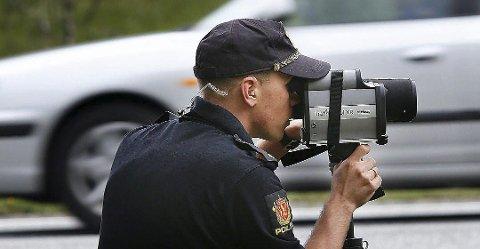 Utrykningspolitiet vil være synlig langs veiene i Nordland. Foto: Tom Melby