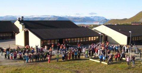 PENGER TIL OPPUSSING: Reindalen skole i Hammerfest kan få 80 millioner kroner dersom Arbeiderpartiets forslag blir vedtatt.