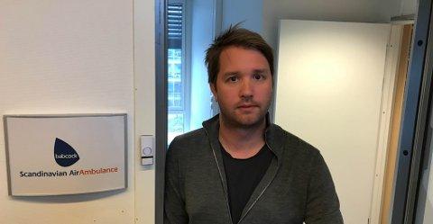 IKKE FERDIGE ENNÅ; – Vi har fortsatt fullt fokus på å få utbedret feilene på de flyene som står på bakken slik at de igjen blir operative, sier daglig leder i Babcock Norge, Marius Hansen.
