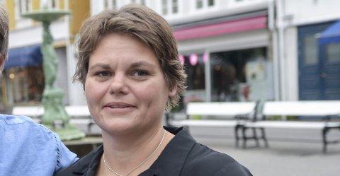 IKKE utsett: Leder i Kragerø Næringsforening, Janna Pihl, ber om at kommunen ikke utsetter investeringen på Fikkjebakke.