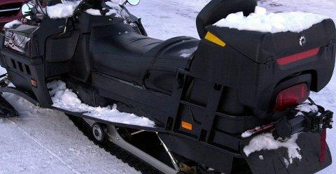 SNØSCOOTER: Vestvågøy jeger og fiskerforening ønsker å fornye snøscootertillatelsen. Arkivfoto