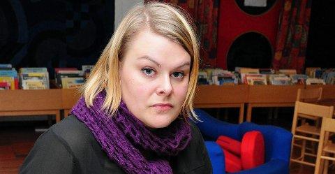 Ansvar: Mette Myhr har tatt på seg ansvaret for både Den kulturelle spaserstokken; og skolesekken.