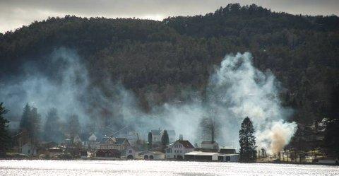 BRANNFARE: Skogbrann er en stor trussel nå som været er tørt og det er endel vind.