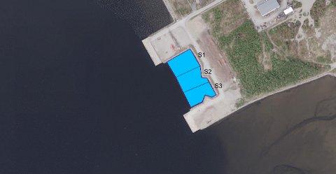 VIL UTVIDE: Trondheim Havn IKS ønsker å utvide eksisterende sprengsteinsfylling for å etablere lagerområde ved Spillumstranda.
