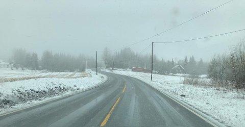 MER SNØ: Meteorologene venter opptil 20 centimeter snø over hele Vestoppland de nærmeste dagene. Illustrasjonsfoto.