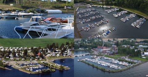 INGEN HJELP: Havnene fra Biri i nord til Kapp i sør har ikke kameraovervåkning av selve Mjøsa, men bare sine egne havnebasseng.