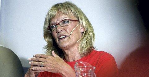 ENER: Karin Andersen er ubestridt ener i Hedmark SV.