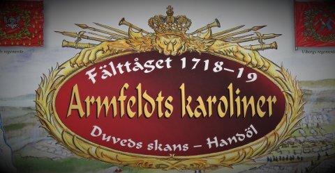 SKILT: Dette skiltet står ved Duved skanse i Sverige.