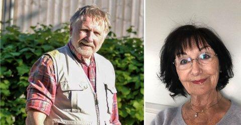 PÅ SPORET: Dag Otto Øgle (77) ønsket å finne ut hvem hun var, jenta han bråforelsket seg i da han var 12 år. Aase Krotseng (78), opprinnelig fra Løten, ble svært overrasket da han ringte.