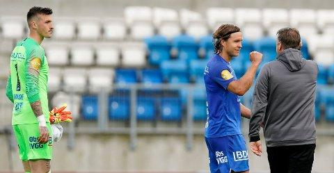 Martin Bjørnbak har kontroll på akillesskaden og er tilbake til helga. Da venter gamleklubben Bodø/Glimt til toppoppgjør på Aspmyra. Foto: Jan Kåre Ness / NTB scanpix