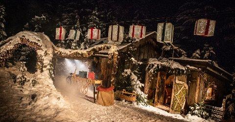 """Under julevandring i Prøysen blir det gjensyn med """"Julenissens magiske pakkeverksted"""". Foto: Jonas Jeremiassen Tomter."""