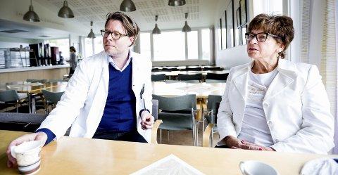 Nytt tilbud: Brith Røkke (66) fra Jessheim er den første som har fått en omfattende brystrekonstruksjon på Feiringklinikken. Hun har betalt selv.Alle foto: Tom Gustavsen