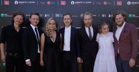 VERDENSPREMIERE: «Barn» av Dag Johan Haugerud  fikk åpne filmfestivalen i Venezia.