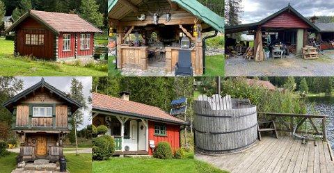 UTBEDRINGER: Her er noen av oppgraderingen som er gjort på eiendommen.