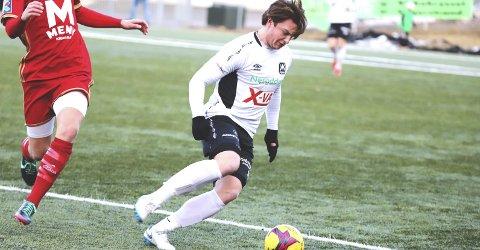 Uavgjort: NIF spilte 1–1 borte mot Oslo City tirsdag kveld, og det betyr at Vetle Henriksveen og NIF