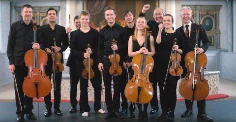 KØLFOGDEN: Det er Vinterfestspills eget orkesterakademi, Konstknekt, som fremfører musikken.