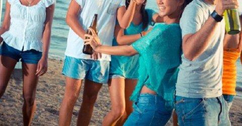 Sol og festing kan plutselig føre til uønskede situasjoner.