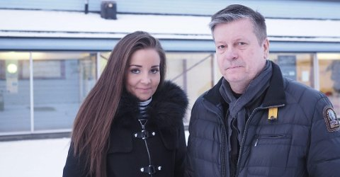 TRAUMATISK TUR: Marlene Føre Frantzen og pappa Trond Frantzen var nære ved å miste livet da passasjerflyet ble kapret i 2004.