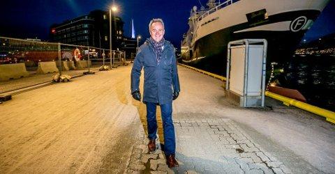 GIR SEG: Banksjef Jan Frode Janson slutter i Sparebanken Nord-Norge etter sju år som toppsjef. Foto: Torgrim Rath Olsen/Nordlys