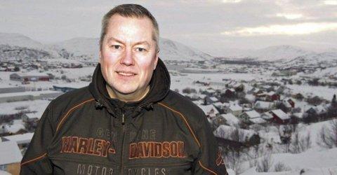ORDFØRER: Senterparti-ordfører Ronald Wærnes vil sette inn militæret for å stanse invasjonen av søringer. Foto: Inge Wahl (iFinnmark)