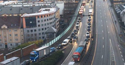 Forrige gang de arrangerte «kjør sakte»-aksjon, sto trafikken i stampe i morgenrushet. Onsdag venter en ny.