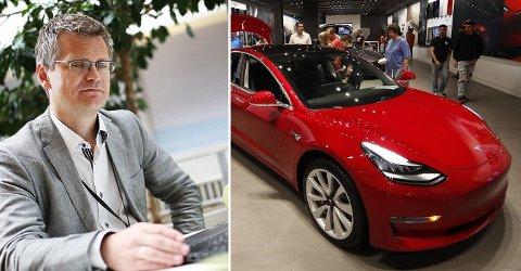 Prosjektleder Pål Rasmus Silseth karakteriserer overfor DN Teslas fall som fryktelig og for en katastrofe å regne med det utgangspunktet de hadde. Foto: (NTB scanpix / BI / montasje Nettavisen)