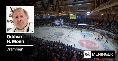 ISHALL: Oddvar Moen mener Drammen må få sin første ishall.