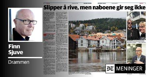 Faksimile: Drammens Tidende 4. mai 2018