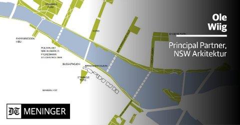 Forslag til flere gangbroer fra NSW Arkitektur