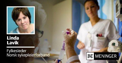 ef3da23b Drammens Tidende - Nyutdannede sykepleiere ønsker hele stillinger