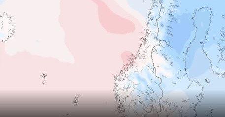 VÊROMSLAG: Det blir temperaturar over null dei fleste stadane i Sunnfjord søndag.