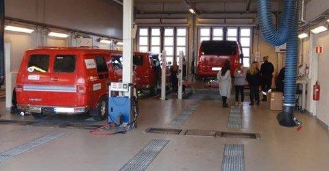 GRATIS: Statens Vegvesen på Hafslund tilbyr også i år gratis kontroll av russebiler.