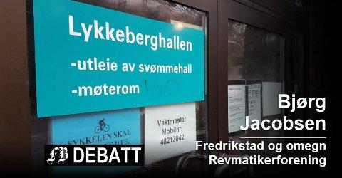 Det varme bassenget i Lykkeberghallen har i lengre tid vært stengt for reparasjoner. Foto: Stig Nilsson