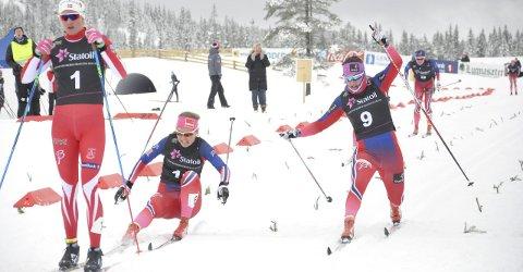 SPURT: Barbro Kvåle slo Mari Eide og ble nummer to.