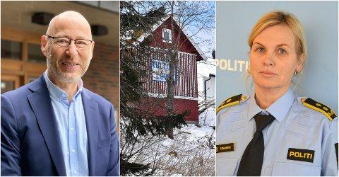 LÅVEMØTET: – Dersom politiet skulle vurdere å undersøke hvem som deltok på sammenkomsten, må det komme en mer konkret anmeldelse mot personer som deltok, sier politiadvokat Elena Lindstad.