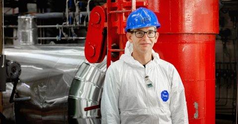 Peter Bennett (bildet) leder prosjektet for uttransport av tre tonn ubestrålt uranbrensel fra Norge til England. Brenselet blir til nytt kjernekraftbrensel i et kommersielt kjernekraftanlegg.