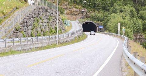 UP hadde kontroll i Fresviktunnelen.