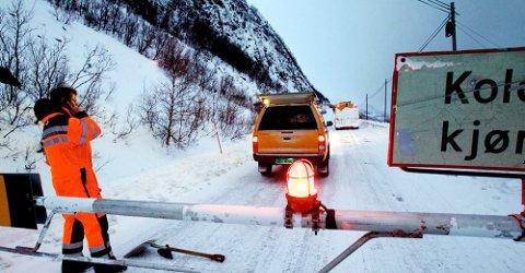 INNFARTSÅRE: E6 Kvænangsfjellet er en av hovedfartsårene inn til Finnmark. Nå skal den utbedres.