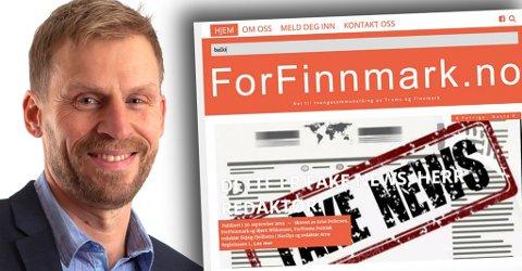 For Finnmark har et navn med en positiv klang, en organisasjon som vil utrette noe positivt. Men måten organisasjonen jobber for å bryte ned alle som forfekter et annet syn enn de selv, den er ikke mye positiv, skriver Jo Inge Hesjevik.