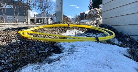 Illustrasjonsfoto: Et sikkert vårtegn er ifølge en av våre tipsere at bredbåndsutbyggernes rørkabler kommer til syne.