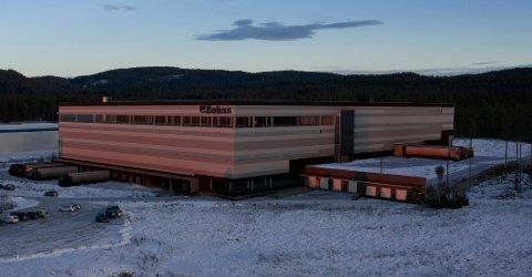 Bohus flytter fra Sørum til Fet og etablerer et nytt sentrallager på 30.000 kvadratmeter i Heia næringspark. Illustrasjon: Arkitektene Astrup og Hellern