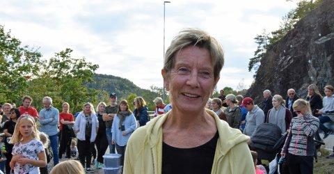 EN STOR DAG: Det ble en hektisk, men stor dag for Sigtru Nesland.FOTO: Roar Hushagen
